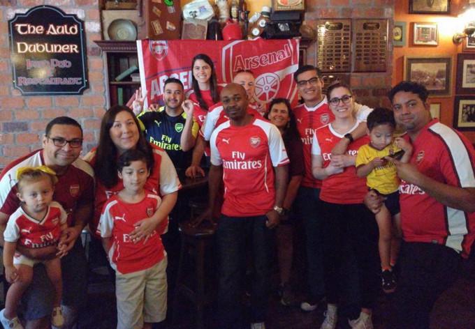 Auld Dubliner Long Beach Arsenal