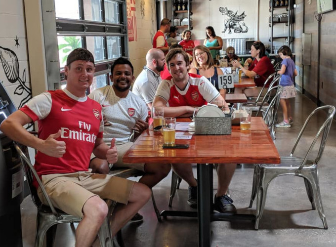 Edmunds Oast Brewing Arsenal Fans