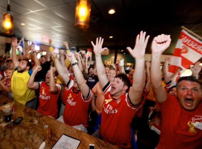 Edmunds Oast Brewing Arsenal Fans