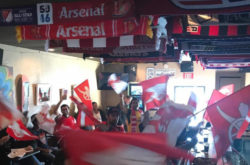Jacks Bar SJ Arsenal Fans