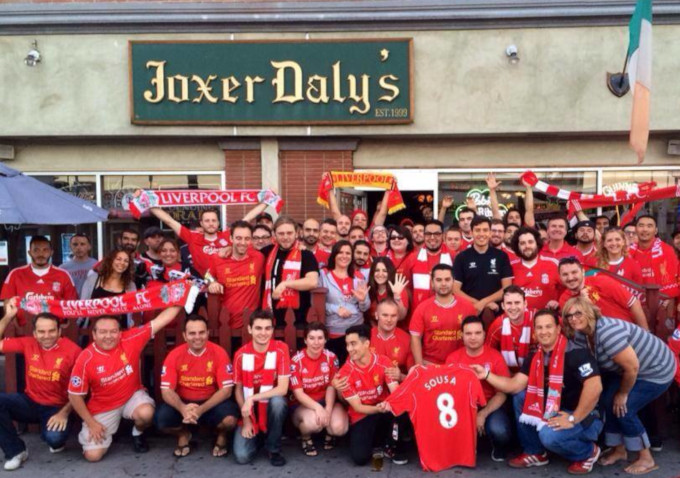 Joxer Dalys Liverpool fans