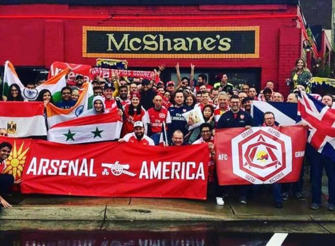Mcshanes Detroit Arsenal Fans
